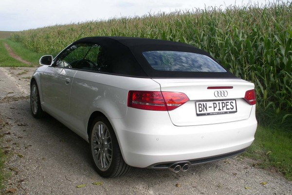BN Pipes Sportauspuff für Audi A3 - Typ 8P