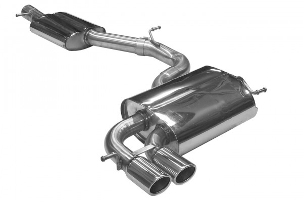 BN Pipes Sportauspuff für Audi S3 - Typ 8P