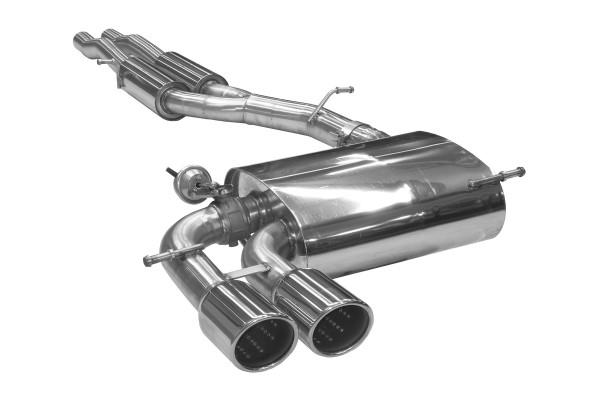 BN Pipes Sportauspuff für Audi RS3 - Typ 8P