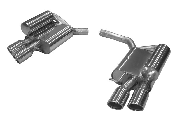 BN Pipes Endschalldämpfer für Audi S5 - Typ B8