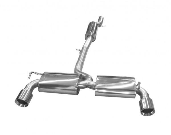 BN-Pipes Abgasanlage für Golf IV R32