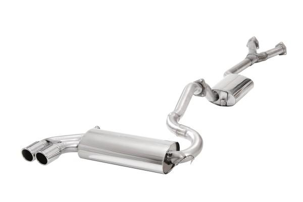 BN Pipes Sportauspuff für Audi S2 - Typ 3B / ABY