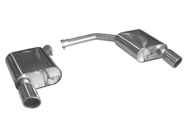 BN Pipes Endschalldämpfer für Audi A4 - Typ B8