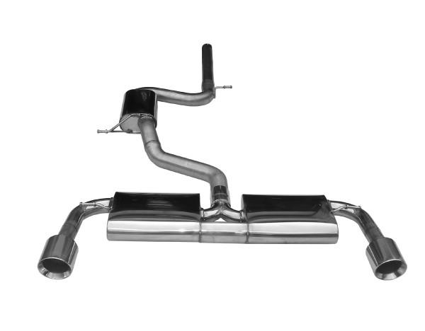 BN Pipes Sportauspuff für VW Golf 7 GTI - Typ AU